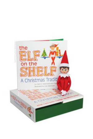 ELF ON THE SHELF A CHRISTMAS TRADITION - GIRL
