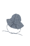 TINY TWIG - SUN HAT -BLUE CHAMBRAY