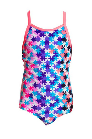 FUNKITA - TODDLER GIRLS PRINTED ONE PIECE - PARTY PIECES