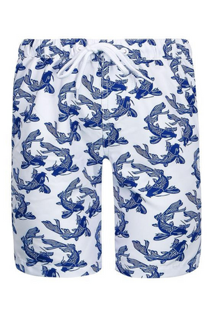 SUN EMPORIUM BABY BOY - CATFISH PRINT BOARD SHORTS