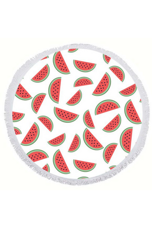 EXECUTIVE CONCEPTS - WATERMELON ROUND TOWEL
