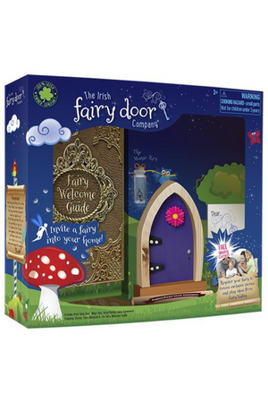 THE IRISH FAIRY DOOR PURPLE DOOR KIT