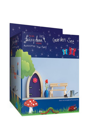 THE IRISH FAIRY DOOR GARDEN ACCESSORY SET