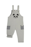 Winter - Turtle Dove organic cotton Panda Easy Fit Dungaree