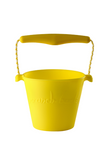 SILICONE BUCKET NEON YELLOW