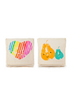 FLUF - MAMA LOVE SNACK BAG ORGANIC COTTON 2 PACK