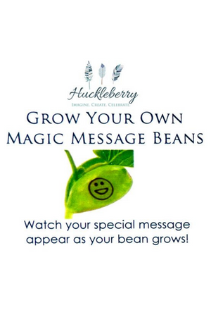 HUCKLEBERRY - GROW YOUR OWN MAGIC MESSAGE BEANS