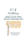 HUCKLEBERRY - PETITE PERFUMES KIT SANDALWOOD & VANILLA