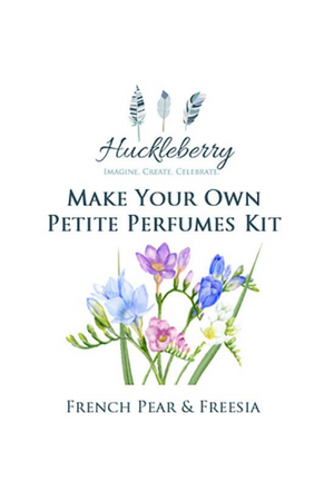 HUCKLEBERRY - PETITE PERFUMES KIT FRENCH PEAR & FREESIA