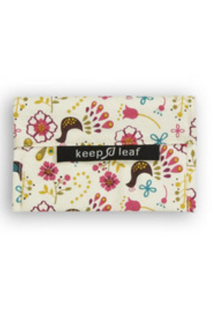 KEEP LEAF BIRDS SMALL REUSABLE BAGGIE