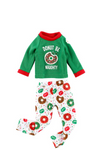 ELF ON THE SHELF CLAUS COUTURE COLLECTION - DONUT BE NAUGHTY PJS