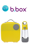 B Box - Lunch Box and Drink Bottle Set - LEMON