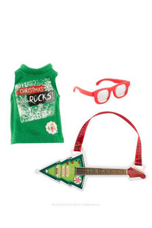 ELF ON THE SHELF CLAUS COUTURE COLLECTION - CHRISTMAS ROCKER