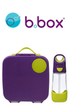 B Box - Lunch Box and Drink Bottle Set - Passion Splash