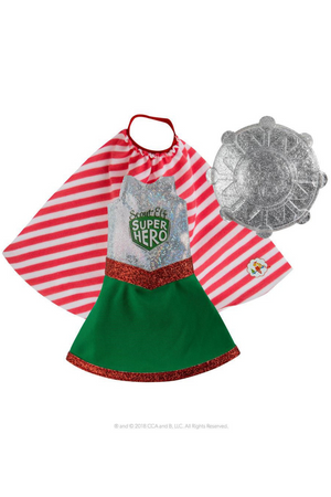 ELF ON THE SHELF CLAUS COUTURE COLLECTION - SUPER HERO GIRL