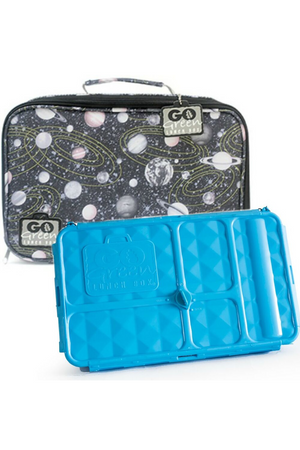 GO GREEN ORIGINAL LUNCH BOX SET - SPACE