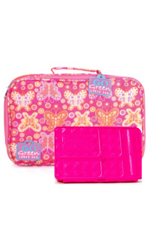 GO GREEN ORIGINAL LUNCH BOX SET - BUTTERFLY