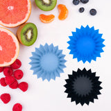 LUNCH PUNCH JUMBO SILICONE CUPS - BLUE