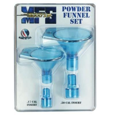 Powder Funnel Set from .17-50cal