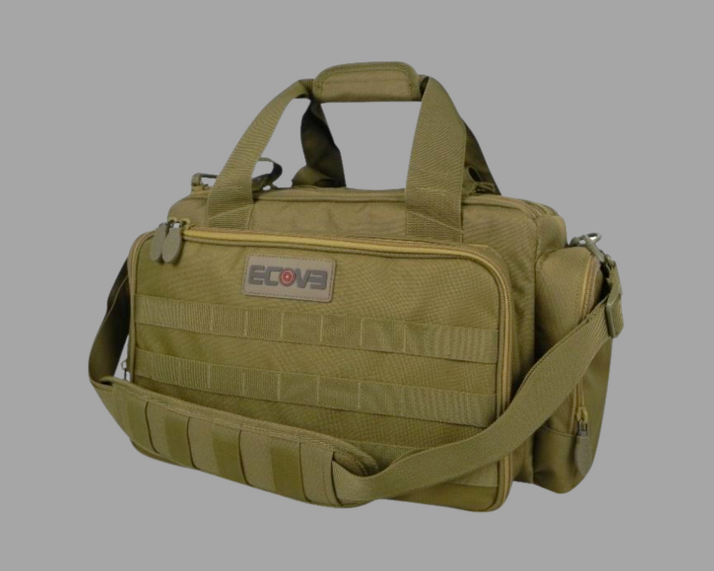 Ecoevo Pro Series Range Bag Tan #BAGEE005SD - Natshoot Shop