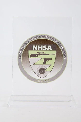 NHSA window sticker