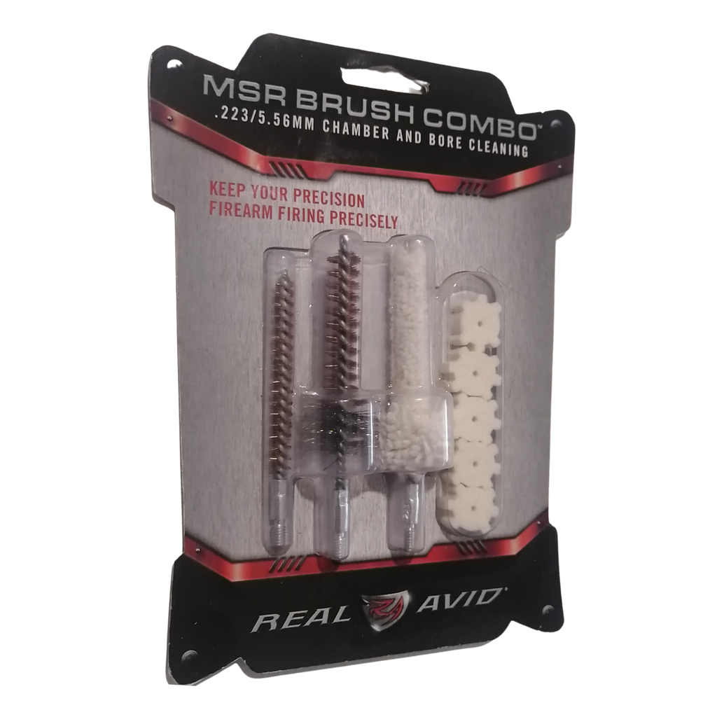 AR-15 Brush Combo .223/5.56 Chamber & Bore Cleaning #REVAR15BC - Natshoot Shop