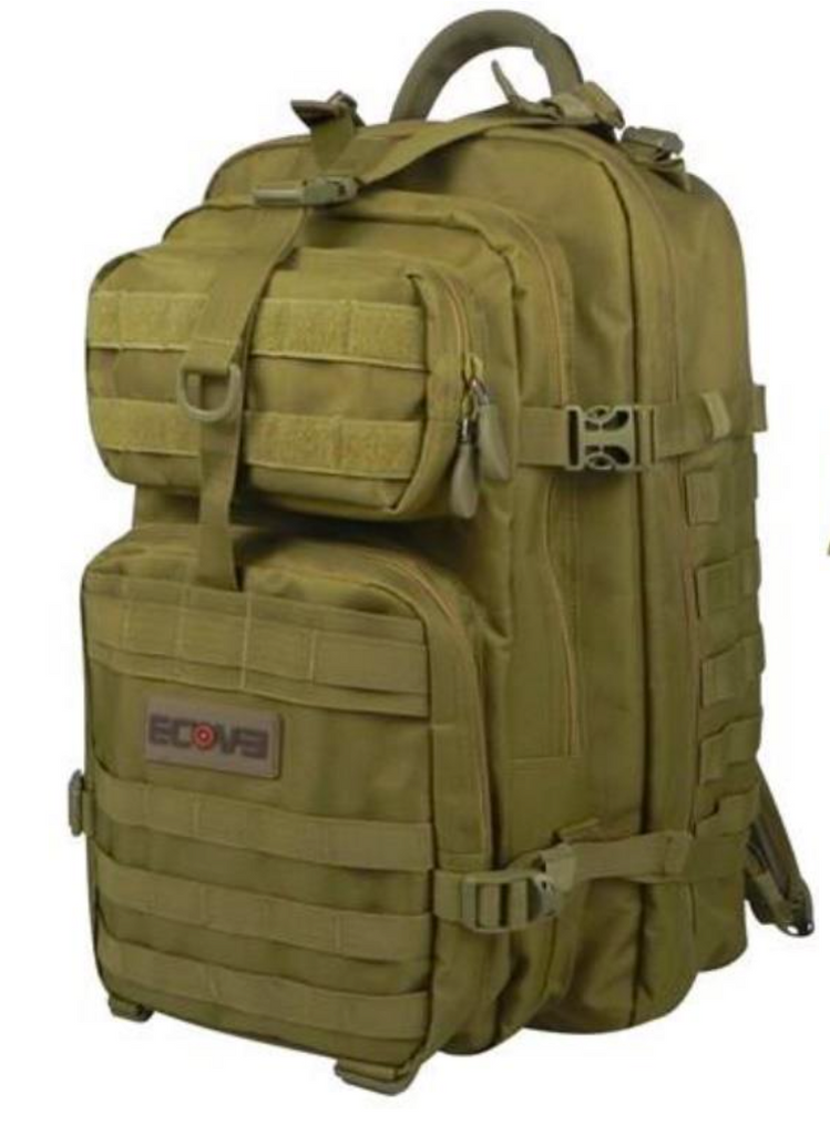 Back Pack  Ecoevo Assault XL #BAGEE020DP - Natshoot Shop