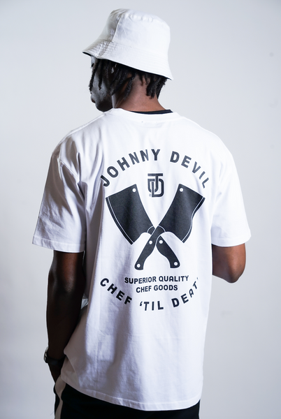 Chef 'til Death T-Shirt (White)