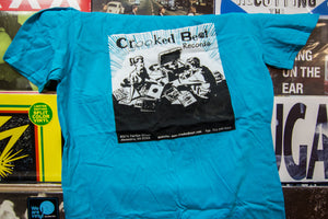 Crooked Beat Records - Classic T-Shirt Design