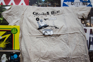 Crooked Beat Records T-Shirt - 20th Anniversary Edition