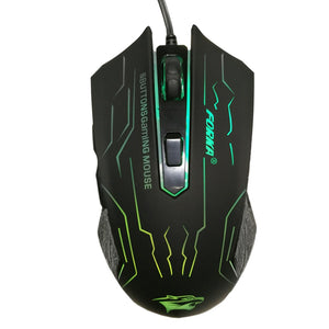 Mouse Gamer FORKA USB 3200DPI