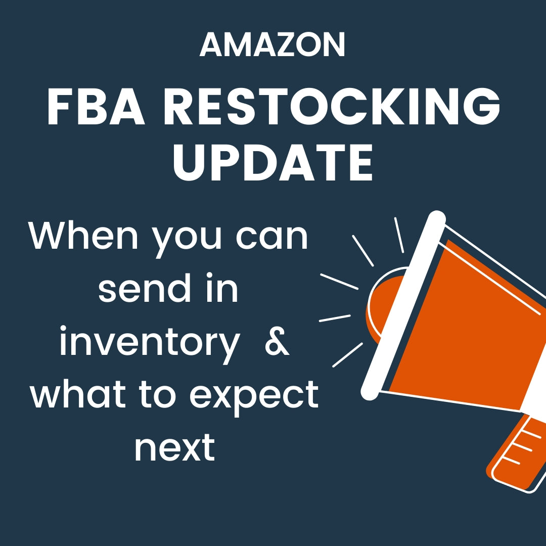 FBA Restocking Restrictions Starting to Lift Next Week - 4/13/2020