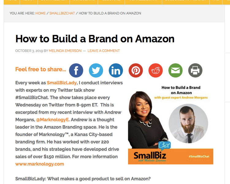 How to build a brand on Amazon