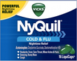 (12) Vicks Nyquil 16 pack