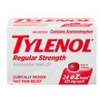 (12) Tylenol Regular Strength 24 Tablets