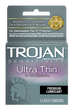 (6) Trojan Ultra-Thin 3 Pack