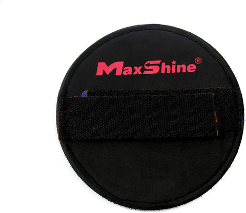 hand polishing waxing strap pad holder maxshine refract car care auto detailing australia near me