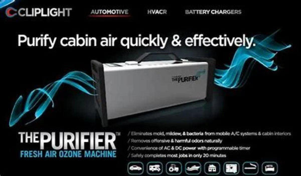 CLIPLIGHT - ODOUR BACTERIA & VIRUS Purification Machine - Refract Car Care Products Australia