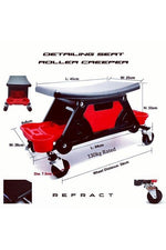 REFRACT Garage Detailing Roll Creeper Seat - Refract Car Care Products Australia
