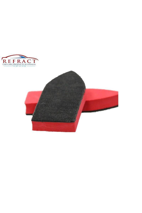 REFRACT Leather & Plastic Scrub Pads - Cleans Deep into Grains & Textured Surfaces - Refract Car Care Products Australia