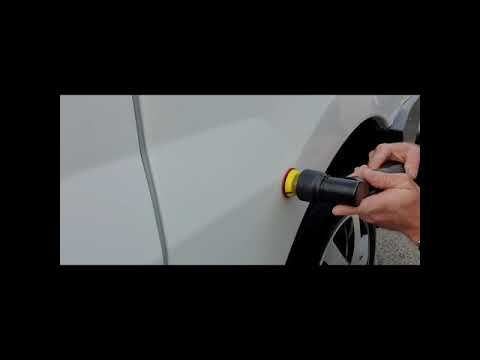 Load and play video in Gallery viewer, Video of Mini battery nano mini polisher for car detailing paint correction sale australia rupes ibrid style alternative