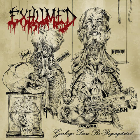 EXHUMED Garbage Daze Re-Regurgitated 12""