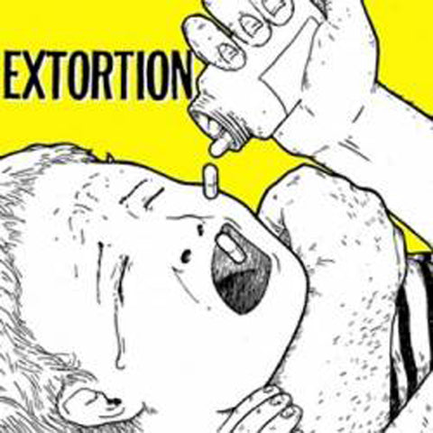 EXTORTION / JED WHITEY Split 7""
