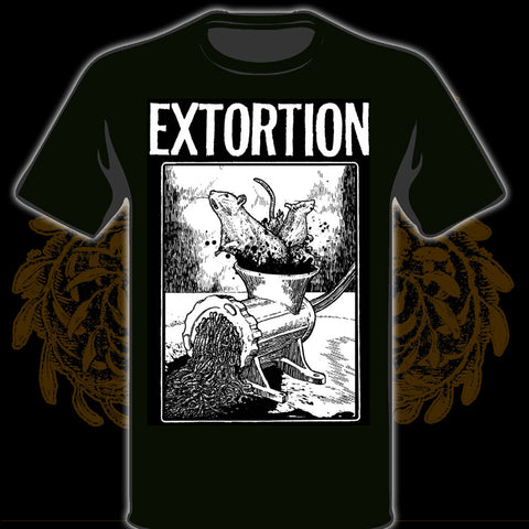 EXTORTION Grinder I US Tour 2015 (T-Shirt: Black)