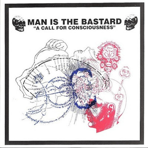 MAN IS THE BASTARD A Call For Consciousness / Our Earths Blood 10""