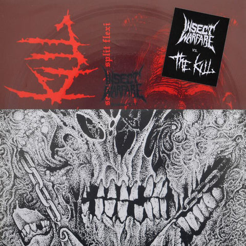 "INSECT WARFARE / THE KILL 'The 48 Second Split 7"" Flexi' 7"" Flexi"