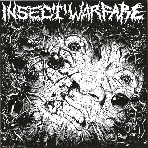 INSECT WARFARE / CARCASS GRINDER Split 7""