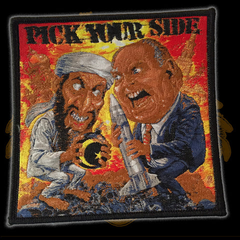 PICK YOUR SIDE Ed Repka (Patch)