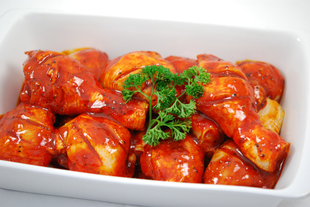 Chicken Drumsticks- 'Texas' Marinade - Gluten Free