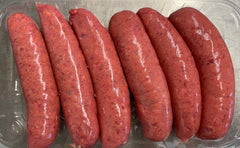 Beef Sausages Traditional